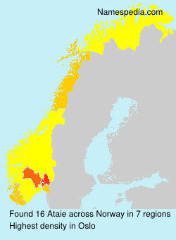 Surname Ataie in Norway