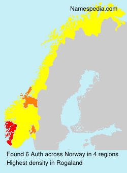Surname Auth in Norway