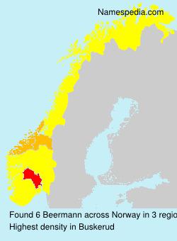 Surname Beermann in Norway