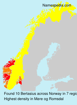 Surname Bertasius in Norway