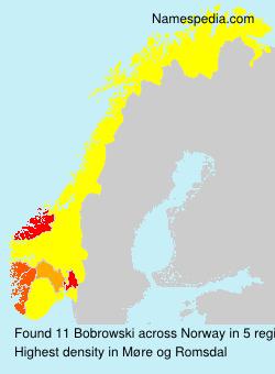 Surname Bobrowski in Norway