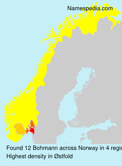 Surname Bohmann in Norway
