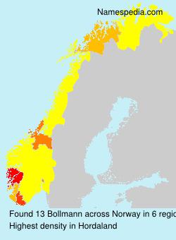Surname Bollmann in Norway