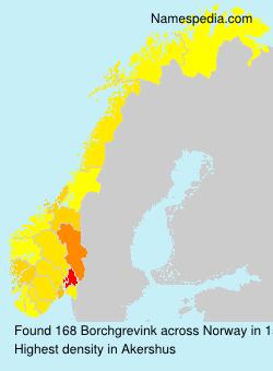 Familiennamen Borchgrevink - Norway