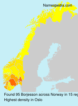 Surname Borjesson in Norway