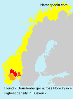 Familiennamen Brandenberger - Norway