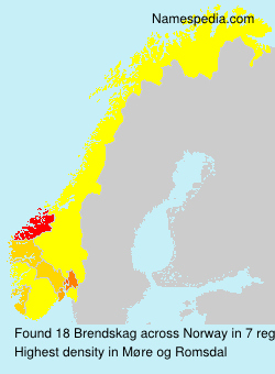 Surname Brendskag in Norway