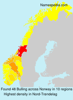 Surname Bulling in Norway