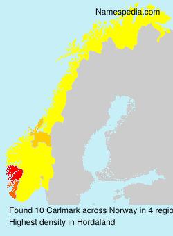 Familiennamen Carlmark - Norway