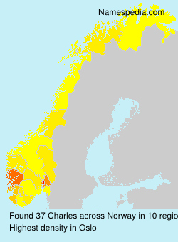 Surname Charles in Norway