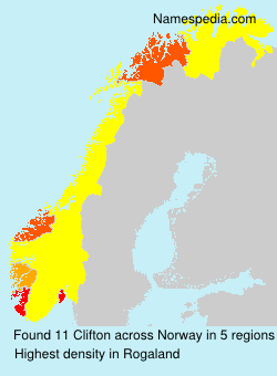 Surname Clifton in Norway