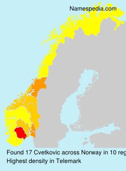 Cvetkovic - Norway