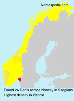 Surname Denis in Norway