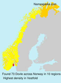 Surname Dovle in Norway