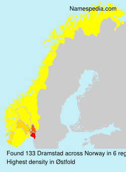 Surname Dramstad in Norway