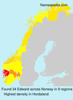 Surname Edward in Norway