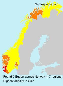 Familiennamen Eggert - Norway