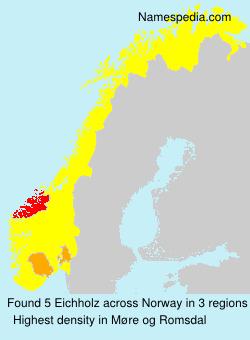 Familiennamen Eichholz - Norway