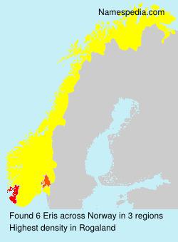 Surname Eris in Norway