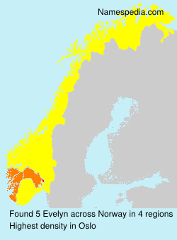Surname Evelyn in Norway