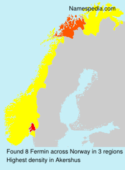 Surname Fermin in Norway