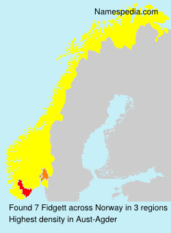 Surname Fidgett in Norway