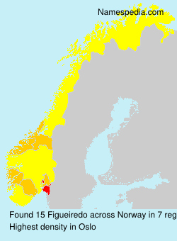 Surname Figueiredo in Norway