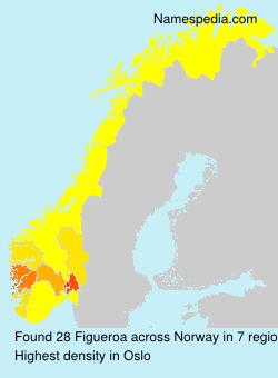 Surname Figueroa in Norway
