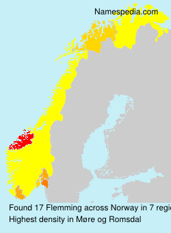 Surname Flemming in Norway