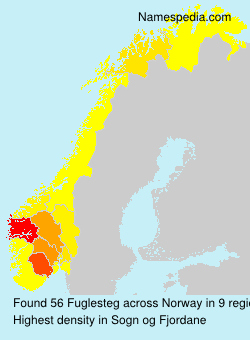 Surname Fuglesteg in Norway