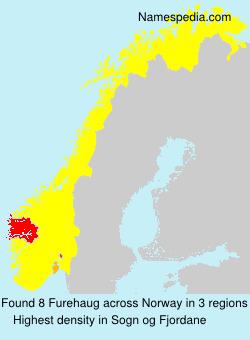 Surname Furehaug in Norway