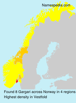 Surname Gargari in Norway