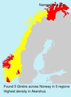 Girskis - Norway
