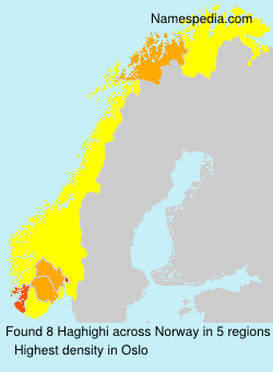 Surname Haghighi in Norway