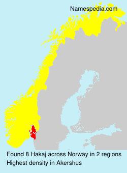 Hakaj - Norway