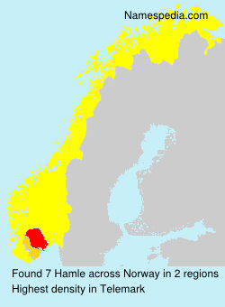 Surname Hamle in Norway