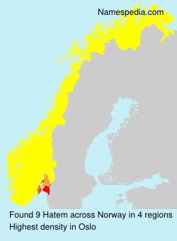 Surname Hatem in Norway