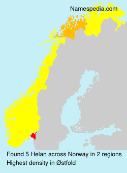 Surname Helan in Norway