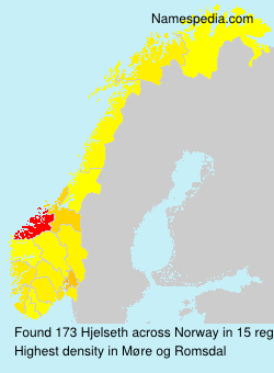 Surname Hjelseth in Norway