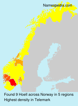 Surname Hoell in Norway