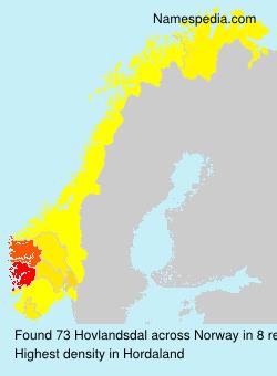Hovlandsdal