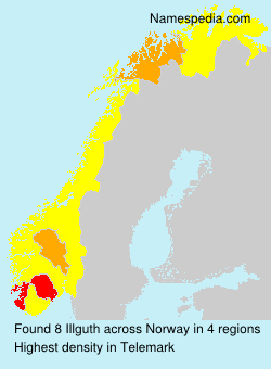 Surname Illguth in Norway
