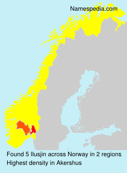 Surname Ilusjin in Norway