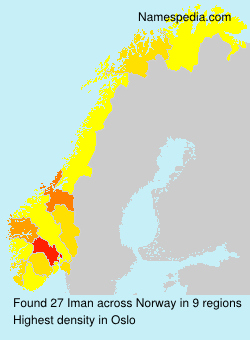 Surname Iman in Norway