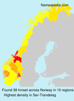 Familiennamen Innset - Norway