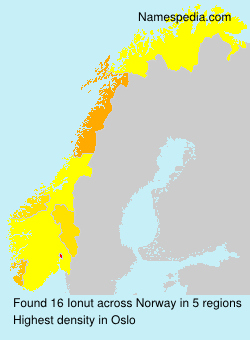 Surname Ionut in Norway