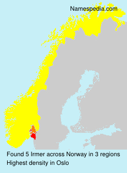 Surname Irmer in Norway