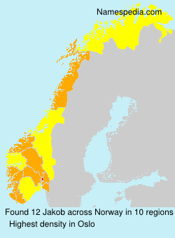 Surname Jakob in Norway