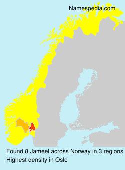 Surname Jameel in Norway