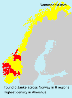 Surname Janke in Norway